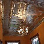 showroom tin ceiling